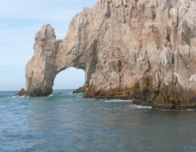 """Cabo's Iconic """"Los Arcos, """" Viewed from the Sea of Cortez"""