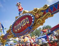 Dumbo ride at New Fantasyland, Walt Disney World