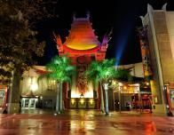 The Chinese Theater at Disney World lets you rest and enjoy clips from classic movies.