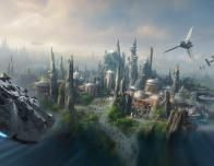 Disney's Star Wars Land; a rendering.