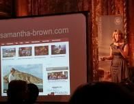 Samantha Brown inspires audience at Womens Travel Fest