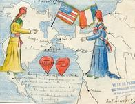 National WWI Museum and Memorial celebrates centennary of WWI with exhibit of French children's drawings