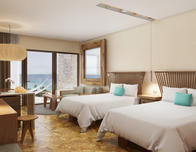 Queen dize rooms at Hotel Xcaret Mexico. ; photo: c Xcaret