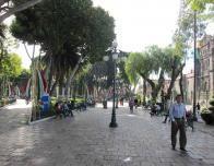 Zocolo is main town square of Puebla.