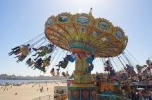 Sea Swings, Santa Cruz Beach Boardwalk