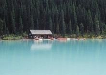 cabin_lake_forest