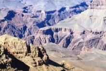 Aerial View of Grand Canyon