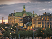 Place Jacques Cartier, Montreal. Photo by Stephan Poulin