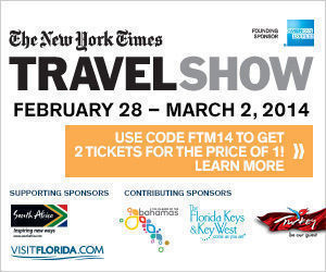 New York Times Travel Show Discounts