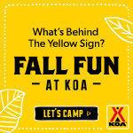 Fall Camping Spots