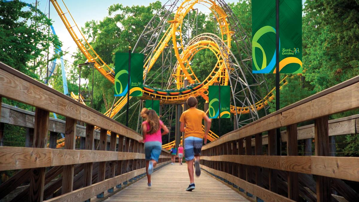 Thrills at Busch Gardens