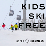 Kids Ski Free at AspenSnowmass